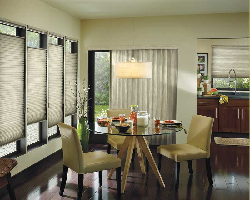 Linen window treatments - Pleated Shades Window Treatments A Fine Design Independent Window