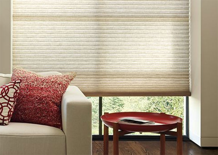 Duette® honeycomb blinds